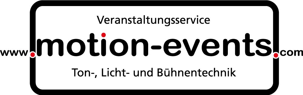 Motion-Events - Veranstaltungstechnik